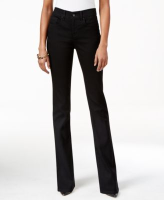 Size 12 New Ladies Stretch Cord Bootcut Embroidered Jeans Black RRP £30