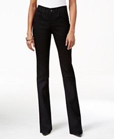 Style & Co Tummy-Control Bootcut Jeans, Created for Macy's