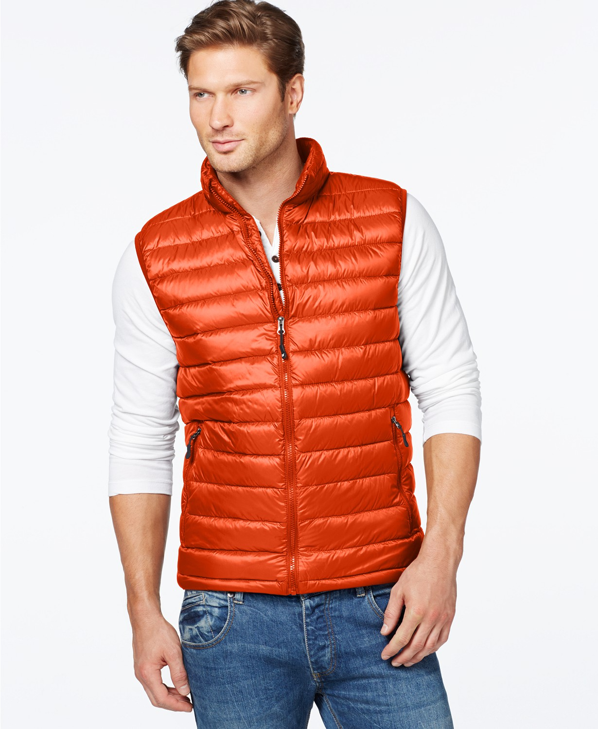 32 Degrees Mens Packable Down Vest Deals