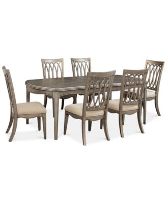 Kelly Ripa Home Hayley 7 Pc. Dining Set (Dining Table U0026 6 Side