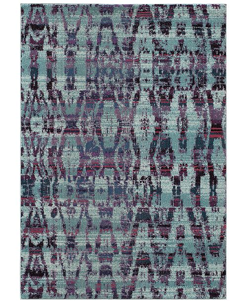 Momeni CLOSEOUT! Modern  Loom ML3 Blue Area Rugs