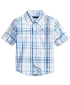 Baby Boys Ethan Plaid Shirt