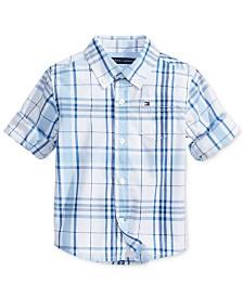 Tommy Hilfiger Baby Boys Ethan Plaid Shirt
