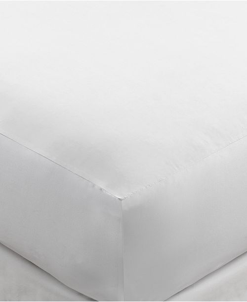 Martha Stewart Collection Allergy Sleep System AAFA™ Certified Hot Water Wash Twin Mattress Protector, Created for Macy's