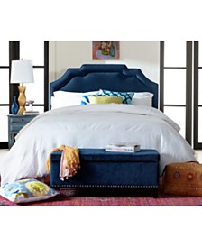 Grant Upholstered Border Beds, Quick Ship
