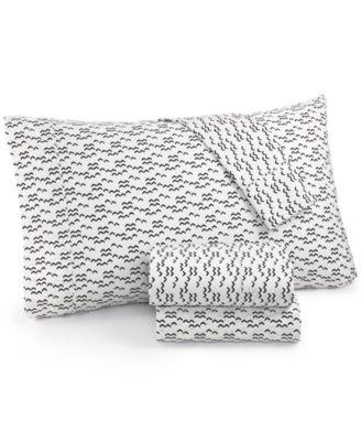 Printed Dart 200 Thread Count Cotton Twin Sheet Set