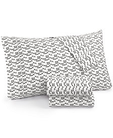 Printed Dart 200 Thread Count Cotton Twin Sheet Set