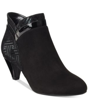 Image of Karen Scott Cahleb Dress Booties, Created for Macy's Women's Shoes