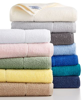 IZOD Performance Bath Towel Collection CottonPoly Created for