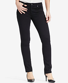 Lauren Ralph Lauren Super Stretch Modern Curvy Straight Jeans