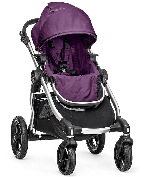 Baby City Select Single Stroller with Silver Frame