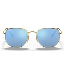 Ray-Ban HEXAGONAL FLAT LENS Sunglasses, RB3548N 51