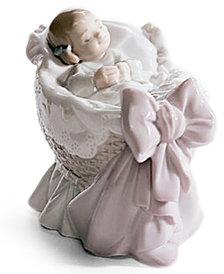Lladro Collectible Figurine, A new Treasure Girl