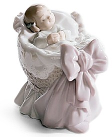 Lladro Collectible Figurine, A new Treasure Girl
