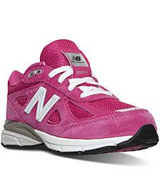 New Balance Little Girls' 990 v4 Running Sneakers from Finish Line