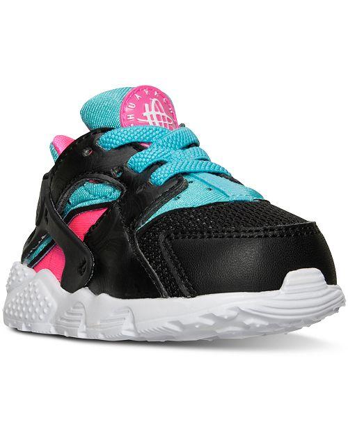 c1355d4ca5b4 Nike Toddler Girls  Huarache Run Sneakers from Finish Line ...