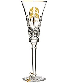 Waterford 12 Days Collection Lismore Four Calling Birds Gold Flute