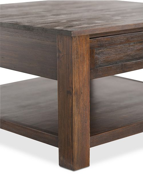 Groovy Oswen Square Coffee Table Quick Ship Andrewgaddart Wooden Chair Designs For Living Room Andrewgaddartcom