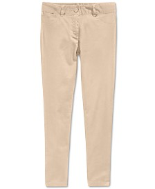 Nautica Big Girls Plus Sateen Pants
