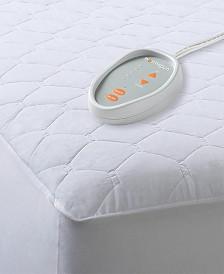 Beautyrest Microfiber Twin Heated Mattress Pad with 3M Scotchgard