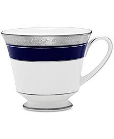 CLOSEOUT! Noritake Crestwood Cobalt Platinum Cup