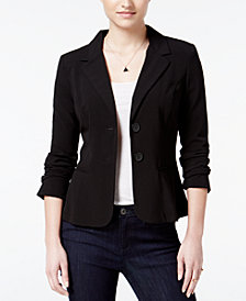 BCX Juniors' Two-Button Blazer