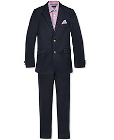 Tommy Hilfiger Alexander Blazer, Pants & Red Gingham Shirt Separates, Big Boys