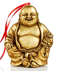 Holiday Lane Gold Buddha Christmas Ornament, Created for Macy's