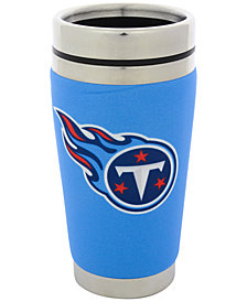Hunter Manufacturing Tennessee Titans 16oz Stainless Steel Travel Tumbler