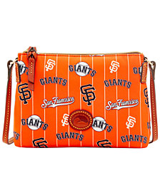 Dooney & Bourke Nylon Crossbody Pouchette MLB Collection