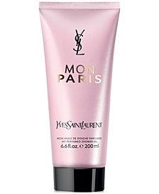 Yves Saint Laurent Mon Paris Shower Oil, 6.7 oz