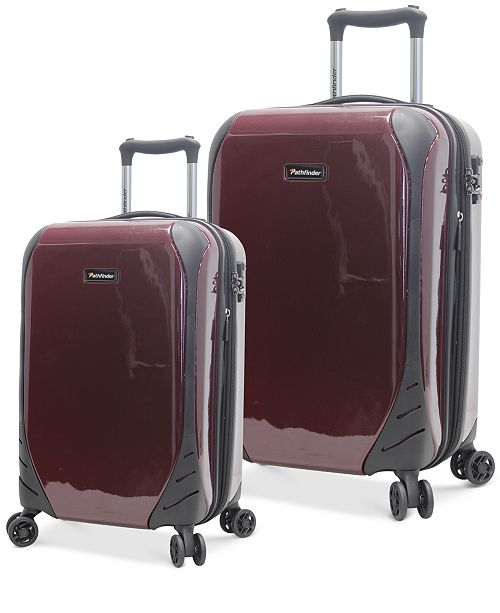 Pathfinder CLOSEOUT! Aviator Hardside Spinner Luggage, Created for Macy's