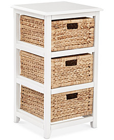 Darina 3-Tier Storage Unit, Quick Ship