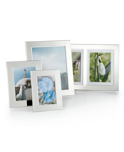 Martha Stewart Collection Picture Frames, Silver Bead Collection ...