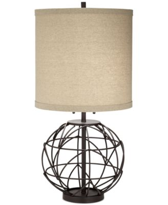 Great Pacific Coast Alloy Globe Table Lamp