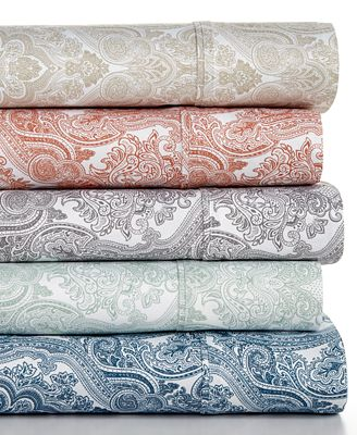 Caprice Paisley 4-Pc Sheet Sets, 350 Thread Count, Only at Macy's