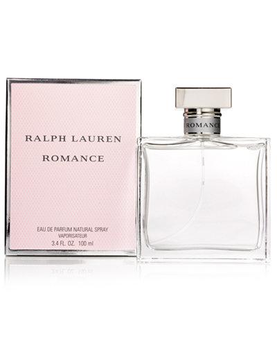 Ralph Lauren Romance Eau de Parfum Spray, 3.4 oz
