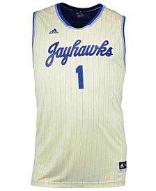 adidas #1 Kansas Jayhawks Replica Pride Basketball Big & Tall Jersey