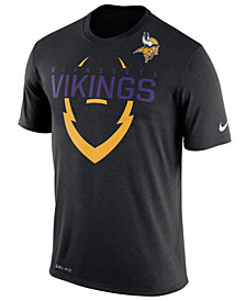 Nike Men's Minnesota Vikings Icon T-Shirt