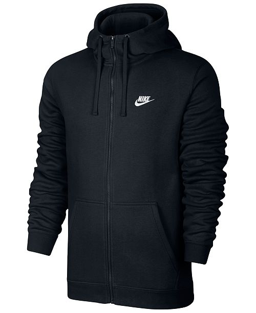 bcbbdebae Nike Men's Fleece Zip Hoodie & Reviews - Hoodies & Sweatshirts - Men ...
