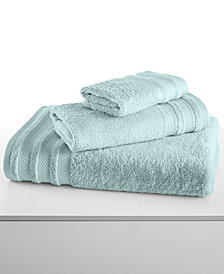 "CLOSEOUT! Charter Club Classic Pima Cotton 33"" x 64"" Bath Sheet, Created for Macy's"