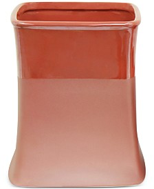 Jessica Simpson Kensley Spice Coral Wastebasket