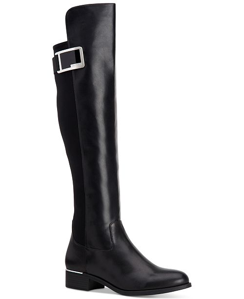 f4a741ce55c Calvin Klein Women s Cyra Over-The-Knee Boots   Reviews - Boots ...