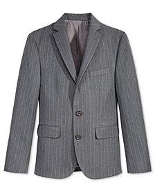 Lauren Ralph Lauren Charcoal Stripe Nested Jacket, Big Boys