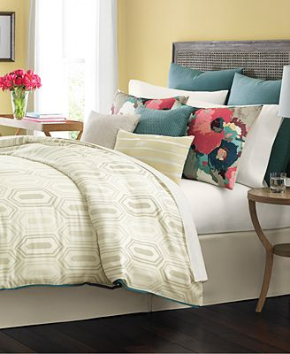 CLOSEOUT! Martha Stewart Collection Ellington 10-Pc. Comforter Sets ...