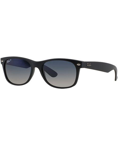 0784fe79e153f ... Ray-Ban Polarized New Wayfarer Gradient Sunglasses