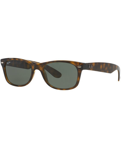 Ray-Ban Sunglasses, RB2132 52 NEW WAYFARER - Sunglasses by