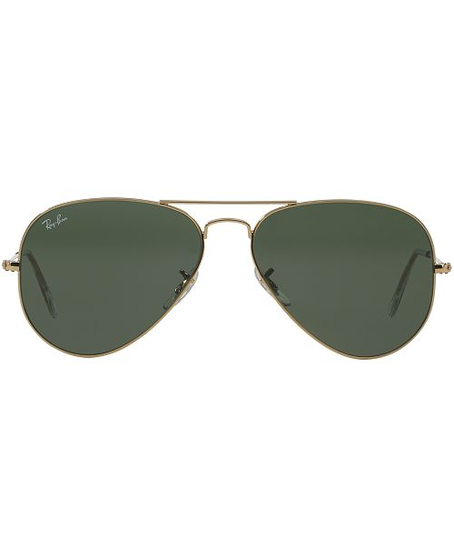 051fd4f0eed1 Ray-Ban Sunglasses, RB3025 AVIATOR & Reviews - Sunglasses by ...