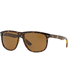 Ray-Ban Polarized Boyfriend Sunglasses, RB4147 60