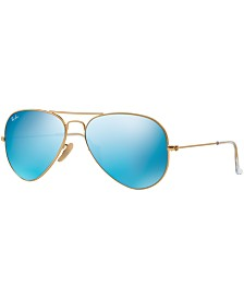 Ray-Ban Sunglasses, RB3025 AVIATOR MIRROR